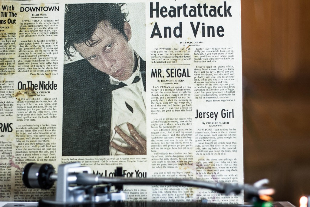 Tom Waits Heartattack&WIne